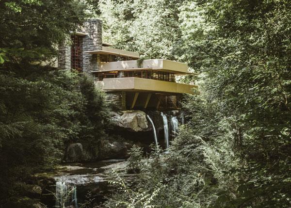 خانه آبشار_نمای ارگانیک